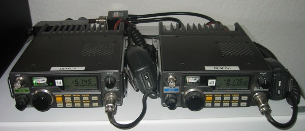 Yaesu FT-290RII and FT-790RII